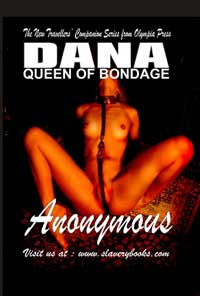 cover design for the book entitled Dana Queen Of Bondage