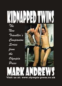 cover design for the book entitled Kidnapped Twins