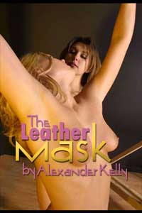 cover design for the book entitled The Leather Mask