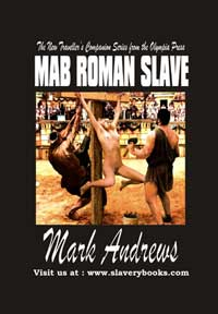 cover design for the book entitled Mab, Roman Slave
