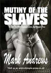 cover design for the book entitled Mutiny Of The Slaves