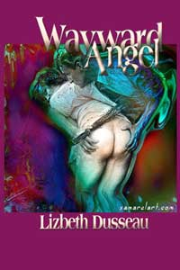 cover design for the book entitled Wayward Angel