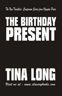 cover design for the book entitled The Birthday Present