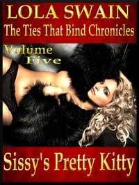 cover design for the book entitled Sissy