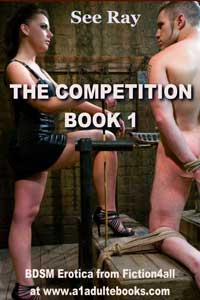 cover design for the book entitled The Competition - Book 1