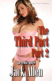 cover design for the book entitled The Third Pact Part 2
