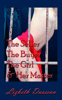 cover design for the book entitled The Seller, The Buyer, The Girl & Her Master