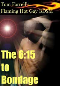 cover design for the book entitled The 6:15 To Bondage