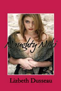 cover design for the book entitled Naughty Niki