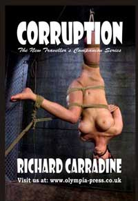 cover design for the book entitled Corruption