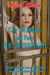 cover design for the book entitled City Of Shame And Pain - The Aftermath
