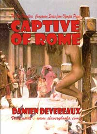 cover design for the book entitled Captive Of Rome
