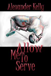 cover design for the book entitled Allow Me To Serve