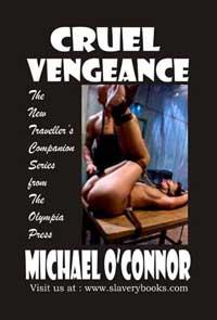cover design for the book entitled Cruel Vengeance