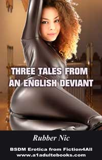 cover design for the book entitled Three Tales From An English Deviant