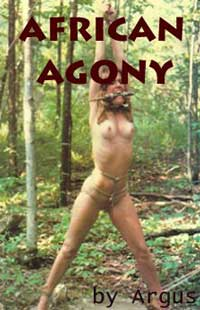 cover design for the book entitled African Agony