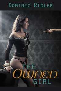 cover design for the book entitled The Owned Girl