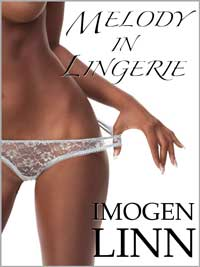 cover design for the book entitled Melody In Lingerie (melody 1)