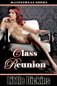 cover design for the book entitled Class Reunion