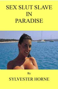 cover design for the book entitled Sex Slut Slave In Paradise