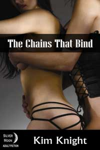 cover design for the book entitled The Chains That Bind