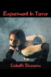 cover design for the book entitled Experiment In Terror