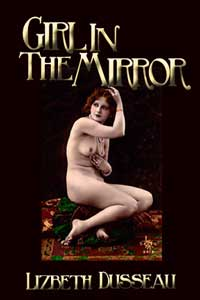 cover design for the book entitled Girl In The Mirror