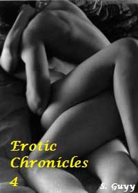 cover design for the book entitled Erotic Chronicles 4