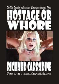 cover design for the book entitled Hostage Or Whore