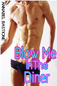 cover design for the book entitled Blow Me In The Diner