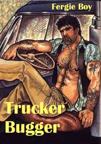 cover design for the book entitled Trucker Bugger