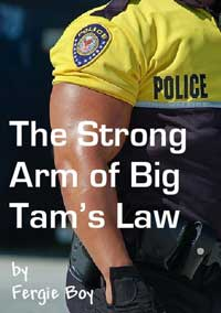 cover design for the book entitled The Strong Arm Of Big Tam