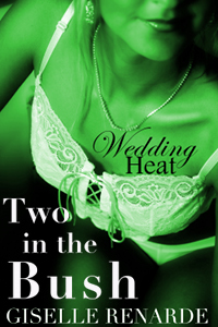 Wedding Heat: Two In The Bush (mff Coworkers/stranger Menage)