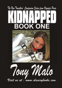 cover design for the book entitled Kidnapped Book One