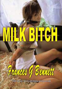 cover design for the book entitled Milk Bitch