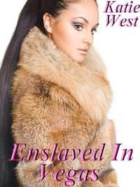 cover design for the book entitled Enslaved In Vegas