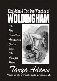 cover design for the book entitled King John And The Two Wenches Of Woldingham