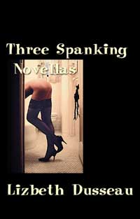 cover design for the book entitled Three Spanking Novellas