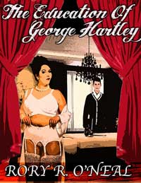 cover design for the book entitled The Education Of George Hartley
