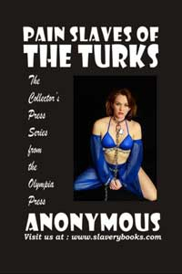 cover design for the book entitled Pain Slaves Of The Turks