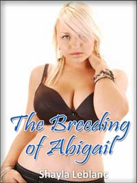 cover design for the book entitled The Breeding Of Abigail