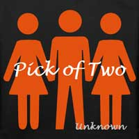 cover design for the book entitled Pick Of Two