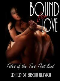 cover design for the book entitled Bound For Love