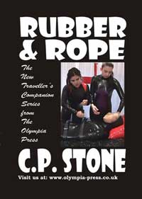 cover design for the book entitled Rubber And Rope