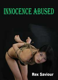 cover design for the book entitled Innocence Abused