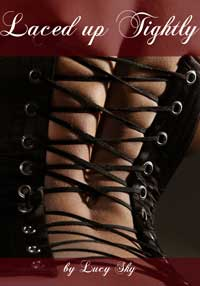cover design for the book entitled Laced Up Tightly