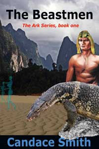 cover design for the book entitled The Beastmen