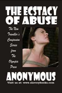 cover design for the book entitled The Ecstasy Of Abuse