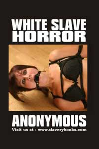 cover design for the book entitled White Slave Horror