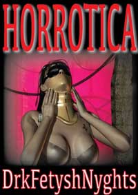 cover design for the book entitled Horrotica